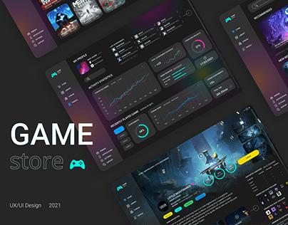 Game store - UX/UI Design