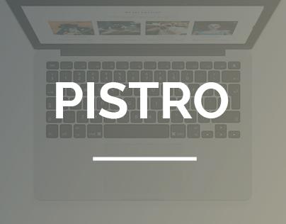 Pistro - Onepage Portfolio