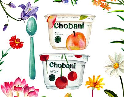 Chobani * The Giving Tree* Illustration
