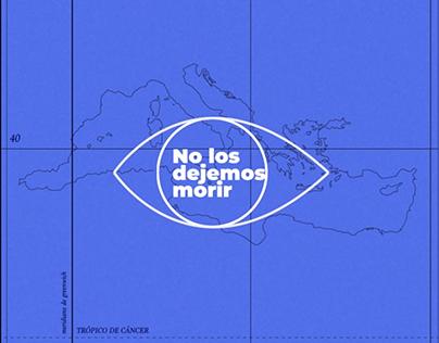 No los dejemos morir // Animated infographic