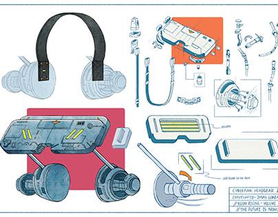 Josan Gonzalez - Cyberpunk Headgear (3D Printing)