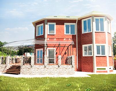 House design exterior.