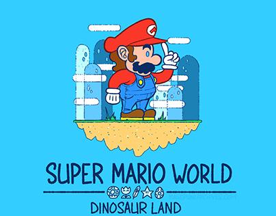 Super Mario World Tee Designs