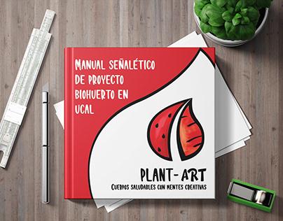 Manual Señalético de Biohuerto Plant-Art