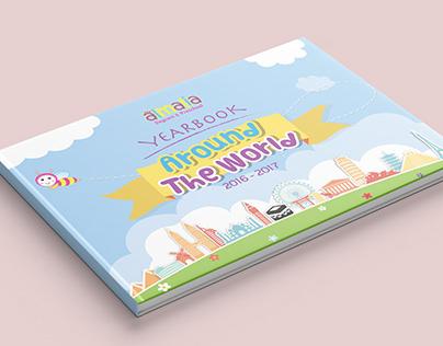 Almalia Yearbook Design