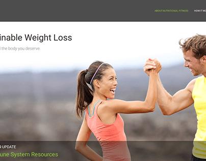 Nutritional Fitness Website