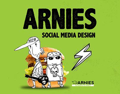 Arnies Social Media Design