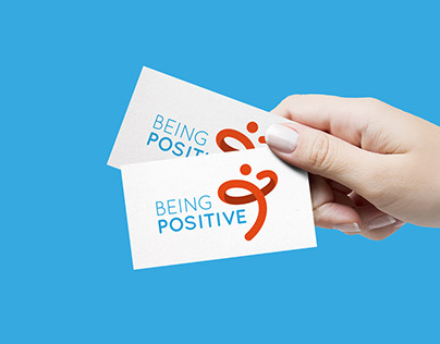 Being Positive · Brand & Corporate identity
