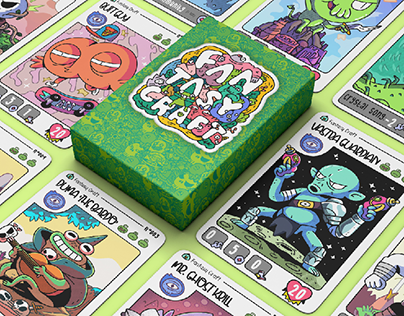 Fantasy Craft Card Design