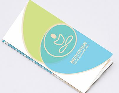 Meditation Trifold Brochure - Informative Brochure