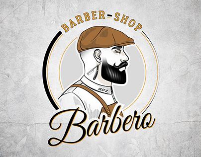 Barbero Barber Shop - Logo Design
