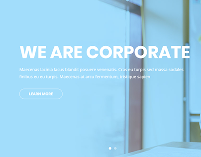 Corporate   Element pack pro   Landing pages