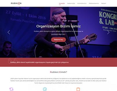 One Page Organization & Event Web Design