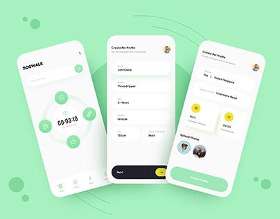 Dog Walker App UI/UX