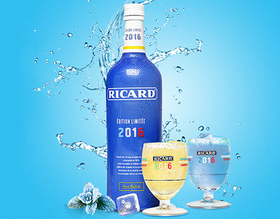 Ricard en Bleu