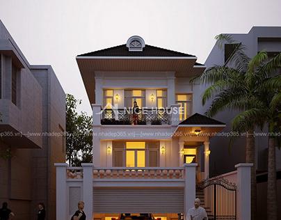 Biệt thự phố 2 mặt tiền Quảng Ninh