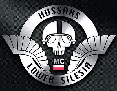 Hussars Moto Club | Logo design