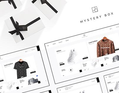 Mystery Box – loot box website