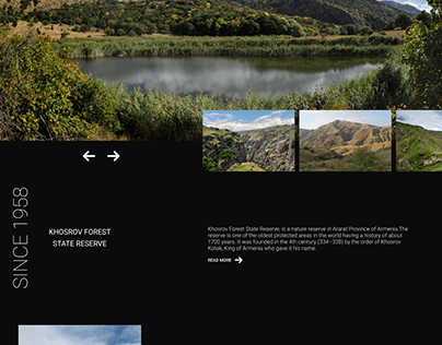 Khosrov Forest Homepage