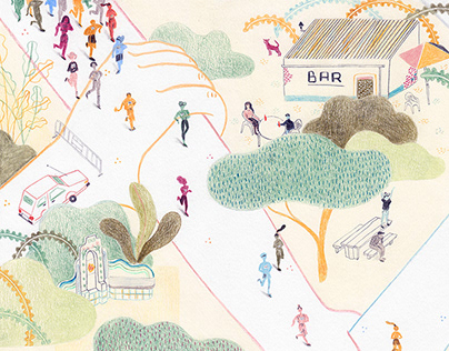 Editorial Illustration - Paths of Solidarity