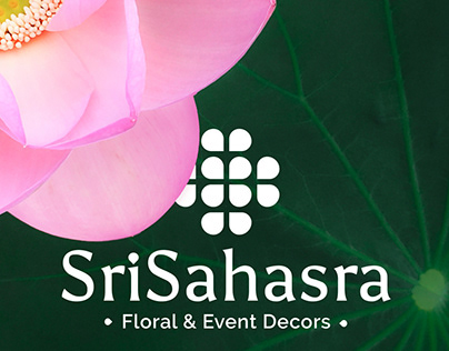 SriSahasra Floral & Event Decors - Logo Design