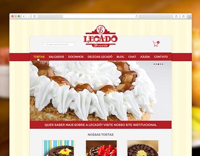 Lecadô Delivery - Web Design