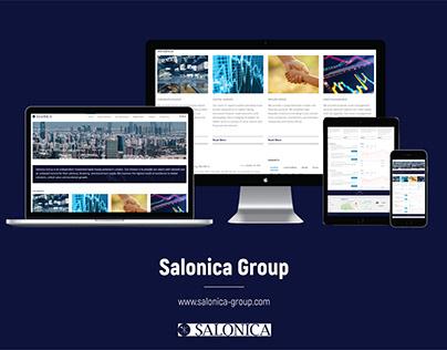 Web Design & Development - Salonica-group.com | Website