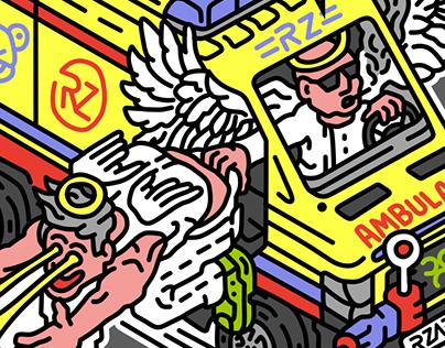 Stickers for Rzabka
