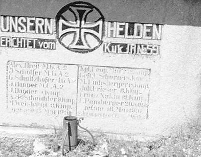 Cimiteri Germanici di Guerra in Trentino e Toscana