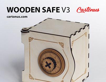Wooden safe V3