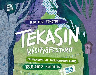 Tekasin festival 2017 advertising
