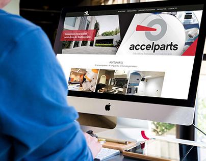 Web Design   Accelparts.org