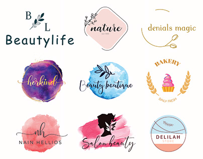 Feminine / Watercolor Logo Design
