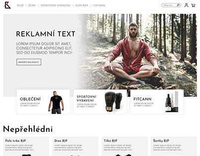 BJP Store E-shop redesign