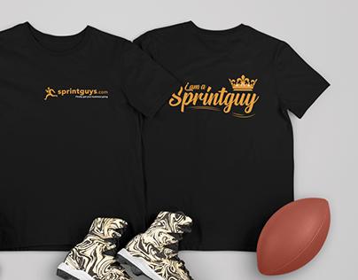 T-shirt for Sprintguy staff