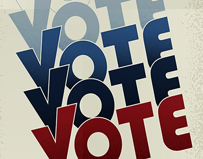 Right to Vote Poster Design