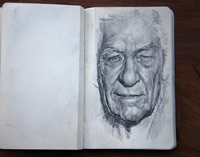 Sketchbook - August 16 - January 17