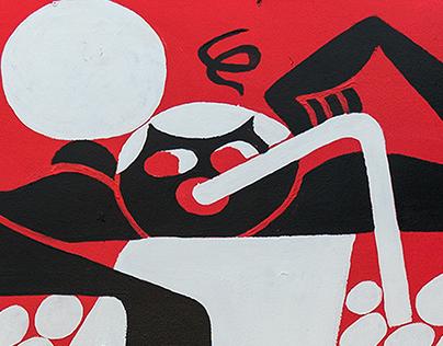 Bar Buddies | Mural