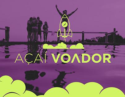 Açaí Voador | Branding