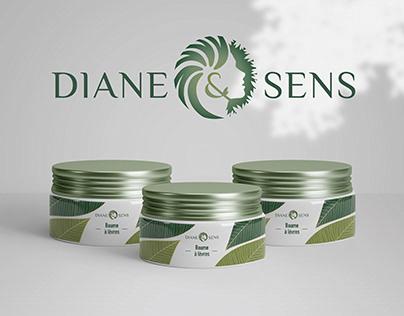 DIANE&SENS : Naturals cosmetics (Rebranding)