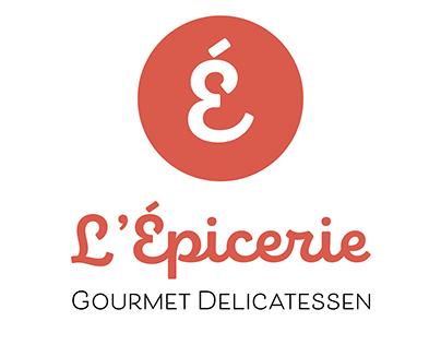 L'Épicerie Gourmet Delicatessen- Branding