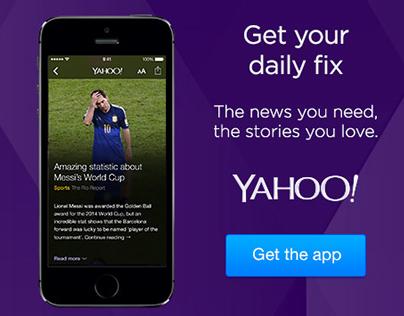 Yahoo App Digital Display Advertising