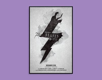 Fantastic Beasts Poster Concept