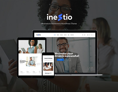 Inestio - Business & Creative WordPress Theme