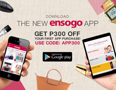 New Ensogo App Mobile Ad Banners