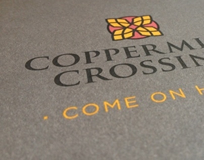 Coppermine Crossing Stationery Package