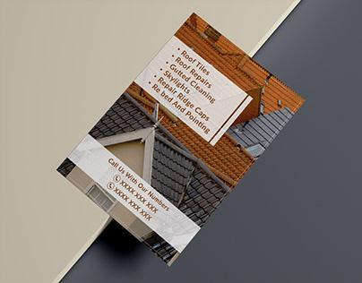 Roofing Experts | Flyer Design | Graphic Designer