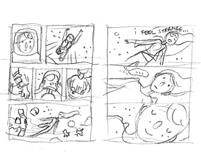 Behind the Scenes_ thumbnails and doodles