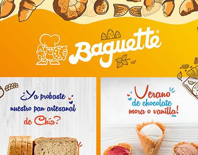 PANADERÍA BAGUETTE - SOCIAL MEDIA AGOSTO 2019