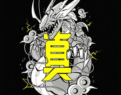 DRAGON SPIRIT HOODIE DESIGN